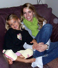 Birth mother and daugher sitting on couch
