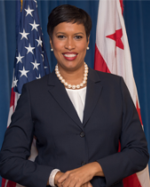 Headshot of Mayor Muriel Bowser