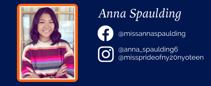 Anna Spaulding and her social media links