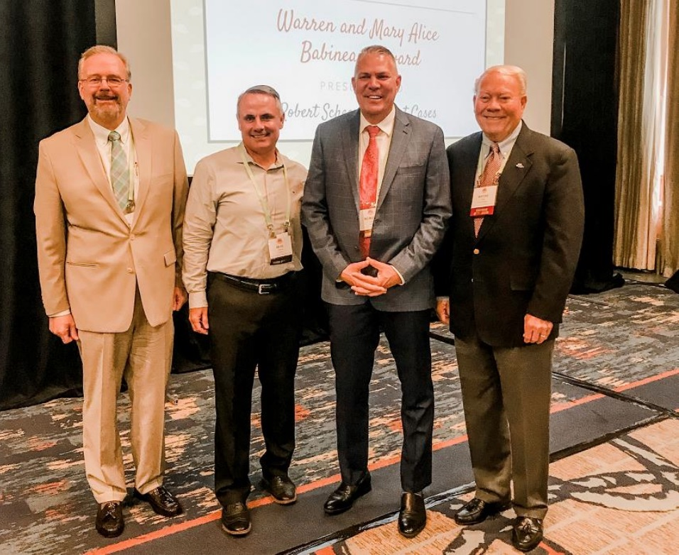 Comfort Cases Founder Rob Scheer Honored with Babineaux Award for Foster Care